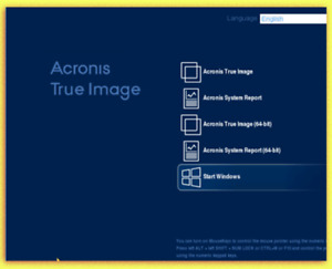 NEW -Acronis True Image 2021 BOOT CD FOR PC