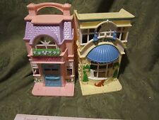 Fisher Price Sweet Street Pet Shop Doll House Beauty Salon Building part town