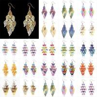 Fashion Women Butterfly Dragonfly Tassel Dangle Ear Earrings Hook Jewelry Gift