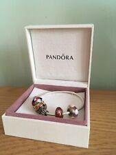 Pandora Charm Bracelet With Charms