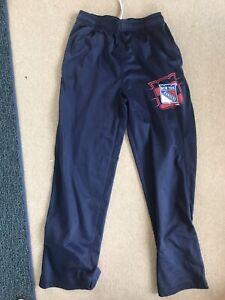 New York Rangers Track Pants - Reebok Center Ice Youth M