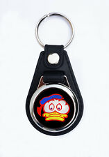 BARRY SHEENE DUCK FAUX KEY RING / KEY FOB.VINTAGE MOTORCYCLE RACER KEY RING