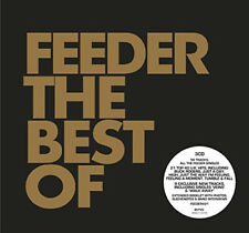 Feeder : The Best Of CD Deluxe  Box Set 3 discs (2017) ***NEW*** Amazing Value