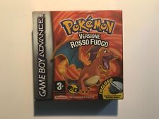 Pokémon Rosso Fuoco Box - Nintendo Game Boy Advance ITA