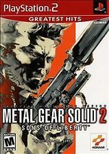 Metal Gear Solid 2: Sons of Liberty (Sony PlayStation 2) MINT