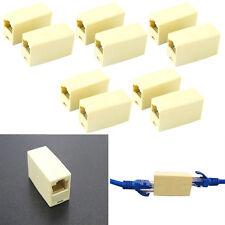 10stk Cat5 5e RJ45 Netzwerk Kabel Stecker Ethernet Lan Cable Plug Connector Neu▫