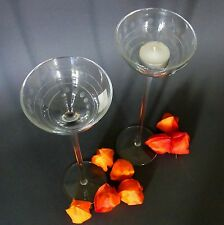 Flirt Ritzenhoff  & Breker Teelichtgläser Teelicht Glas Dekoration 31cm -2er SET