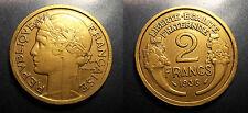 IIIème république - 2 francs Morlon 1936 très jolie !