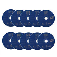 10pcs 4.7GB DVD-RW ReWritable 4X Blank Disc Digital Media DVD RW Storage Sleeve