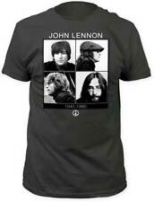 John Lennon 1940-1980 4 Different Photos Adult T Shirt Rock & Pop Music