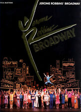 Vocal Selections from JEROME ROBBINS' BROADWAY Sheet Music Piano, Guitar Chords