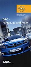 Prospekt 2005 Opel OPC Folder 11 05 Auto Pkw Astra Vectra Meriva Zafira