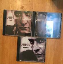 Johnny Cash Love God Murder 3 CD Set No Box BMG Music Club Issue