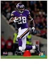 32b0b0889 Adrian Peterson Authentic Action 8x10 Color Photo Minnesota Vikings NFL  Hologram