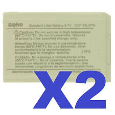 2 For 1 Sanyo Oem Scp-18Lbps Cellphone Battery for Vi-2300 Scp-200