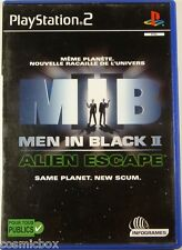 MIB - MEN in BLACK 2 - ALIEN ESCAPE - jeu video PlayStation 2 Sony PS2 complet