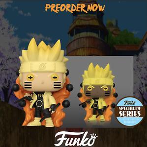 Funko Pop Naruto Shippuden Naruto Six Path Sage GITD Specialty Series {Pre-Order