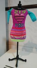 BARBIE glitter colorful large sweater / dress , Outfit, clothes