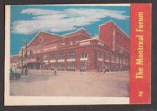 1955-56  PARKHURST  # 78  THE MONTREAL FORUM   INV M764