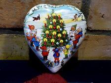 Candy Box Weihnachten Wichtel Weihnachtswichtel Herz Dose Pappe