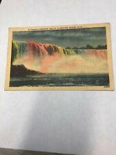 Postcard Niagara falls