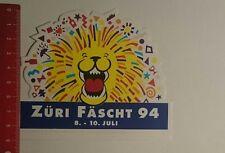 Aufkleber/Sticker: Züri Fäscht 94 (121216173)