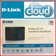 New D-Link Ac-750 Dual Band Wireless+Wired Router