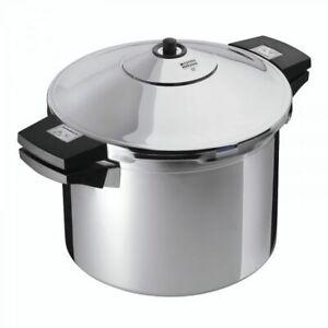 Kuhn Rikon Stainless Steel Inox Pressure Cooker Side Grips 4L 22cm