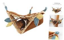 JanYoo Hamster Hammock Cage Accessories Hanging Fleece Bed Swing Bag for Sugar G