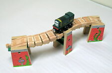 Thomas Wooden Railway, WACKY TRACKS BRIDGE SET, MATTEL 2012, EUC