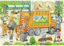 Ravensburger Street Cleaning Underway 2 x 12 pieces Jigsaw Puzzles