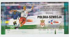 Orig.Ticket   EM Qualifikation  10.09.2003   POLEN - SCHWEDEN / B   !!    SELTEN