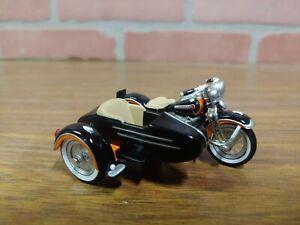 Rare Harley-Davidson 1948 Panhead Sidecar Motorcycle 2000 Mattel Die-Cast 50892