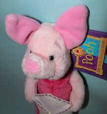 "Gund, Disney, Piglet, ""Little friend, big heart"" plush Valentine, friend, love"