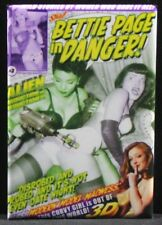 Bettie Page in Danger #3 Comic Book Fridge / Locker Magnet. Sexy Pinup Girl!