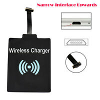 Universal Qi Wireless Charging Receiver Charger Module Mat Fr Micro USB Phone UK