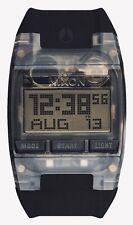 NIXON Comp Watch - BLACK - Digital Japanese Quartz A408001 - All Black Rubber