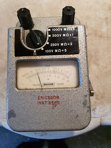 Vintage Megger Major Tester Insulation Tester 1000V
