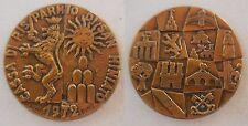 medaglia banca cassa di risparmio di San Miniato Toscana 1972 Bino Bini