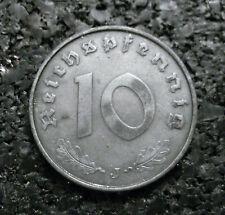 10 Reichspfennig 1943 J - Drittes Reich - Erhaltung -