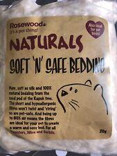 Rosewood Naturals Bedding  Soft Kapok Fibre Hamster Mice Gerbil Pet Birds