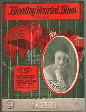 Bleeding Heart Blues 1923 Alberta Hunter Sheet Music