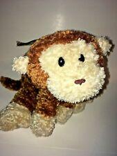 "Mary Meyer Brown And White Monkey 13"" Plush Stuffed Animal"