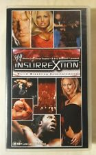 Insurrextion 4 VHS 2003 WWE Home Video Stone Cold Steve Austin Eric Bischoff
