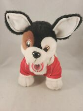 Vintage Toby Terrier Puppy Dog 1993 Tiger Electronic Plush Toy Interactive works