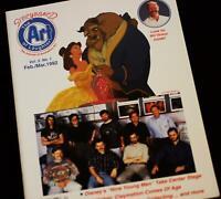 Walt Disney Animation History Storyboard Art Magazine Beauty & Beast Disneyland
