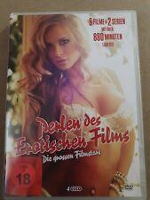 Perlen des Erotischen Films - Die grossen Filmstars 4 DVDs FSK18 NEUWERTIG
