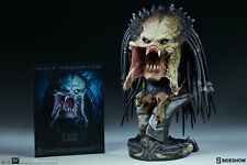 AVP Alien vs Predators Wolf Predator Legendary Scale Bust Sideshow.com Exclusive