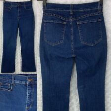 NYDJ Not Your Daughters Jeans Women's Blue Size 8P Bootcut Dark USA Made 28x27
