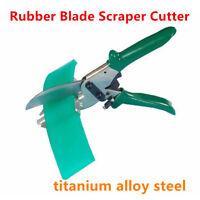 Rubber Blade Scraper Cutter, Silk Screen Printing Squeegee, Cutting Machine Tool